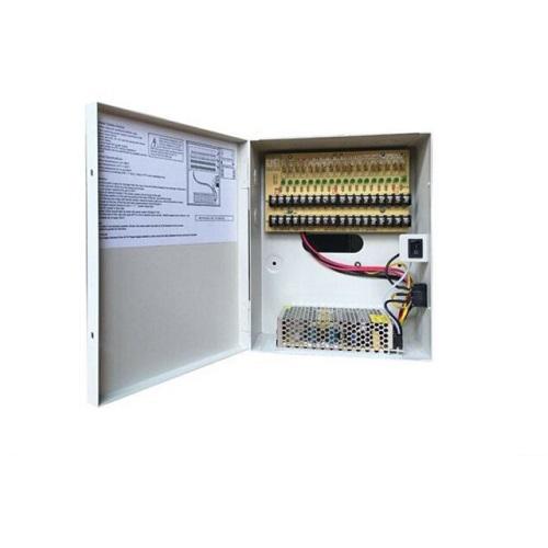 W Box 9 Channel 7.5 Amp CCTV Power Supply