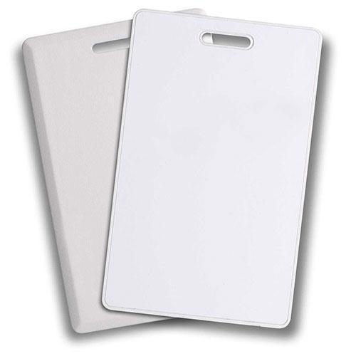 Clamshell 26-Bit 125kHz Pre-Programmed Proximity Card, 25 Pack