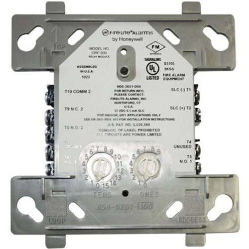 Fire-Lite Alarms CRF-300 Addressable Relay Module