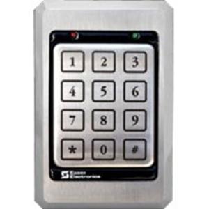 Essex Electronics K1 Series 12 pad 3x4 Keypad w/ Stainless Steel Bezel