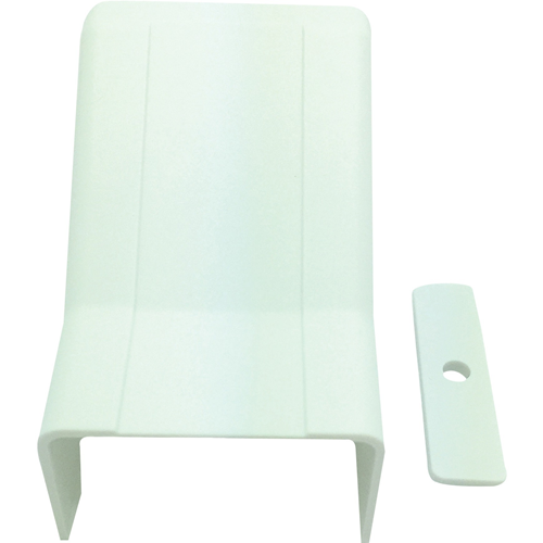 """W Box 1-3/4"""" X 1"""" Drop Ceiling Entry White 4 Pack"""