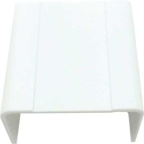 """W Box 3/4"""" X 1/2"""" Joint Cover White 4 Pack"""