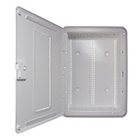 On-Q New - Plastic 20IN Enclosure With Trim Ring And Hinged Door