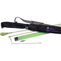 Creep-Zit Kit 24' 8 3' Rods In Nylon Quiver Case